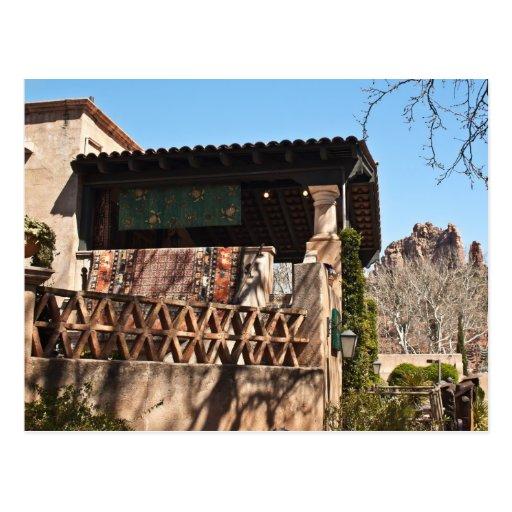 Arquitetura espanhola cartão postal