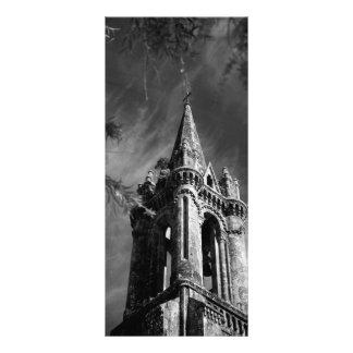 Arquitetura gótico panfleto personalizado