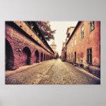 Arquitetura medieval de Sibiu Posteres