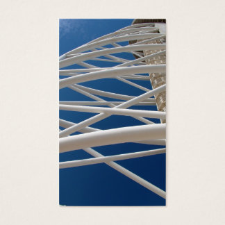 Arquitetura moderna cartão de visitas