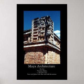 Arquitetura Xla-Pak do Maya Pôster