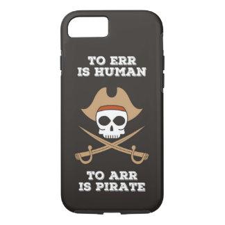 Arr gosta de uma capa de telefone do pirata