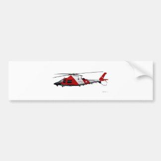 Arraia-lixa de Agusta MH-68 Adesivo Para Carro