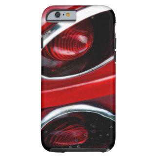 Arraia-lixa vermelha de Corveta Capa Tough Para iPhone 6