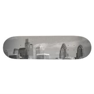 Arranha-céus de Philly preto e branco Skate Boards