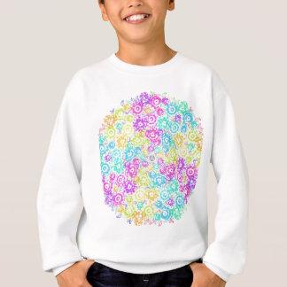 Arranjo colorido floral agasalho