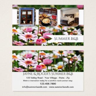 Arrendamento da casa de campo do verão ou cartão
