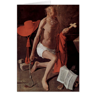 Arrependimento da excursão de Georges de St Jerome Cartoes