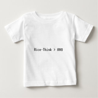 Arroz-Pense o roupa T-shirt