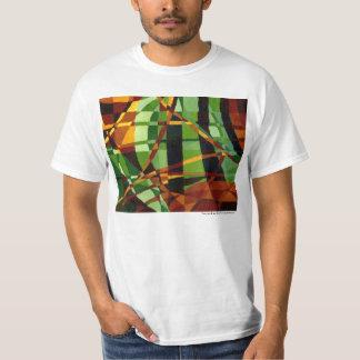 Art deco+Abstracção de Nouveau da arte T-shirts