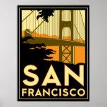 Art deco de San Francisco Poster