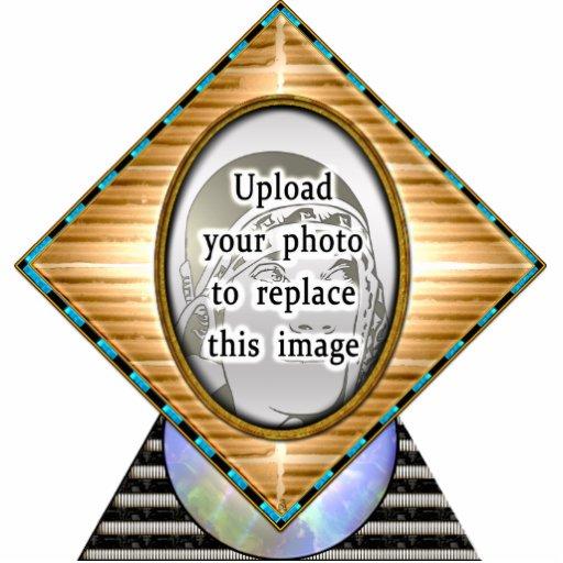 Art deco egípcio (personalizado - foto) esculturafoto