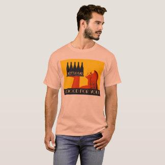 art deco retro do estilo Garrafa-eau Camiseta