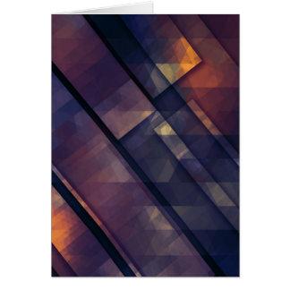 arte 5 do pixel cartão comemorativo