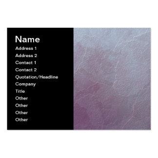 Arte abstracta Amethyst do gelo Cartão De Visita Grande