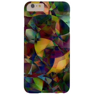 Arte abstracta colorida, Kaleidoscopic Capas iPhone 6 Plus Barely There