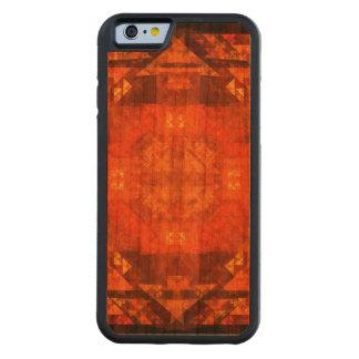 Arte abstracta da bênção capa de cerejeira bumper para iPhone 6