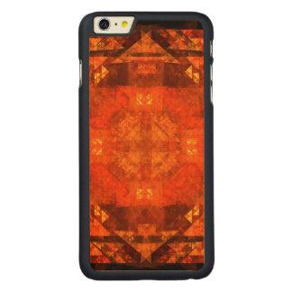 Arte abstracta da bênção capa para iPhone 6 plus de carvalho, carved®