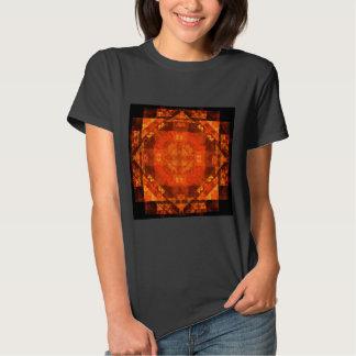 Arte abstracta da bênção tshirt