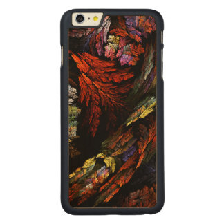 Arte abstracta da harmonia da cor capa para iPhone 6 plus de carvalho, carved®