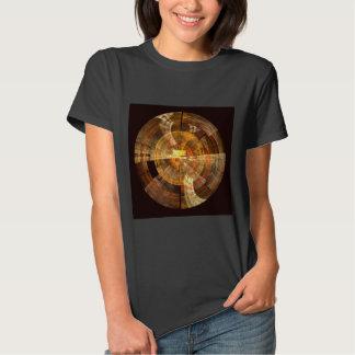Arte abstracta da integridade t-shirts