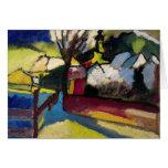 Arte abstracta de Kandinsky Cartao