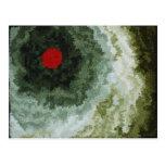 Arte abstracta de Kandinsky Cartão Postal