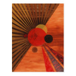 Arte abstracta de Kandinsky Cartoes Postais