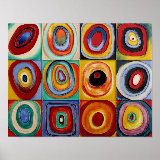 Arte abstracta de Kandinsky Posters