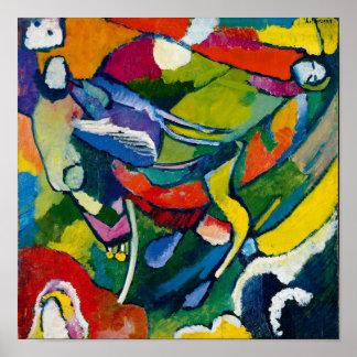 Arte abstracta de Kandinsky Pôster