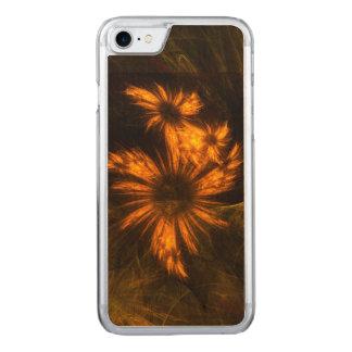 Arte abstracta do jardim da mística capa iPhone 7 carved