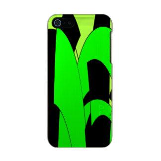 Arte abstracta do limão do limão capa incipio feather® shine para iPhone 5