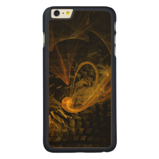 Arte abstracta do limite de ruptura capa para iPhone 6 plus de carvalho, carved®