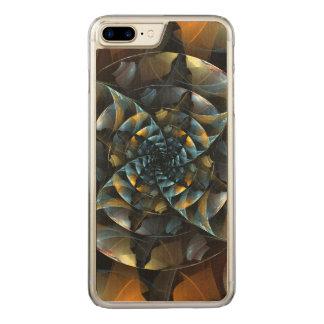 Arte abstracta do Pinwheel Capa iPhone 7 Plus Carved