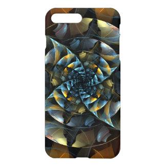 Arte abstracta do Pinwheel lustrosa Capa iPhone 8 Plus/7 Plus