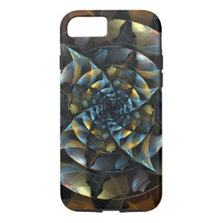 Arte abstracta do Pinwheel resistente Capa iPhone 7