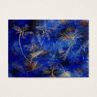 Arte abstracta dos contos de fadas de Paul Klee Cartão De Visitas
