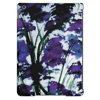 Arte abstracta floral moderna do caso do iPad de Capa Para iPad Air
