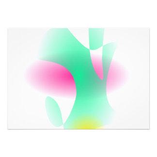 Arte abstracta formando simples