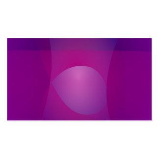 Arte abstracta legal do roxo escuro cartões de visita