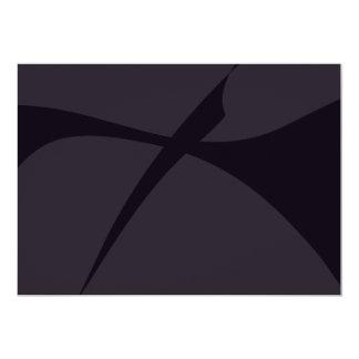Arte abstracta preta simples convites