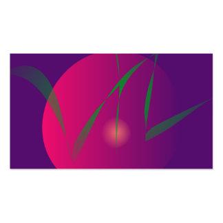 Arte abstracta roxa da noite da lua dobro