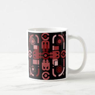 Arte abstracta taça caneca de café