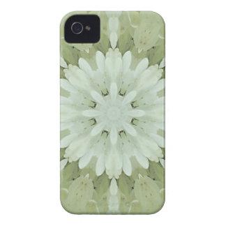arte abstrata floral branca da casa do casamento capa para iPhone