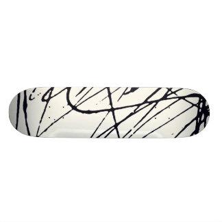 Arte aleatória shape de skate 18,7cm