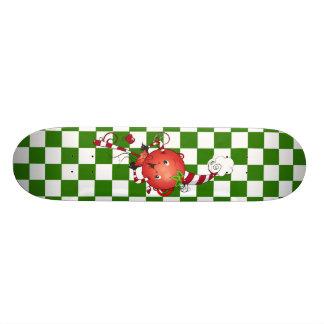 Arte alegre do pirulito do Lolly Shape De Skate 19,7cm