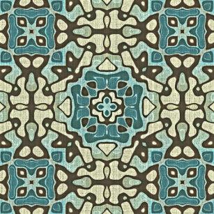 Arte anca de Oriente Bali do ocre cinzento azul do f3476123840