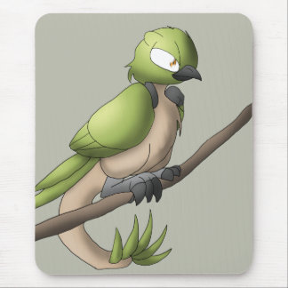 Arte animal híbrida aviária do réptil do pássaro mouse pad