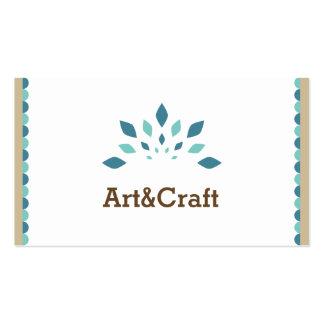 Arte & artesanato cartão de visita