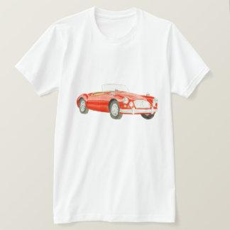 Arte clássica da camisa do carro T de MGA